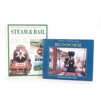 "First Edition ""Ironhorse: A History of the Steam Train"" and More"