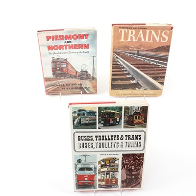"First Edition ""Piedmont and Northern"" and More Transportation Books"
