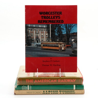 """Signed Limited Edition """"Historic Alpine Tunnel"""" and More Railroad History Books"""