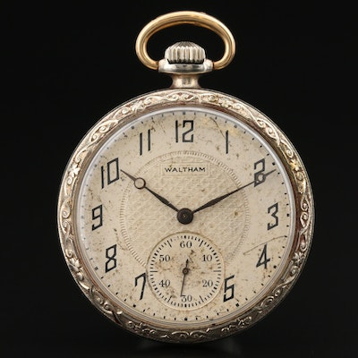 1921 Waltham Gold Filled Pocket Watch