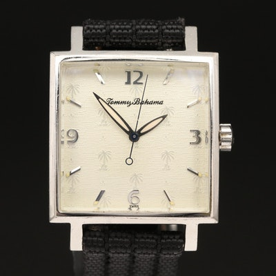 Tommy Bahama Sterling Silver Wristwatch