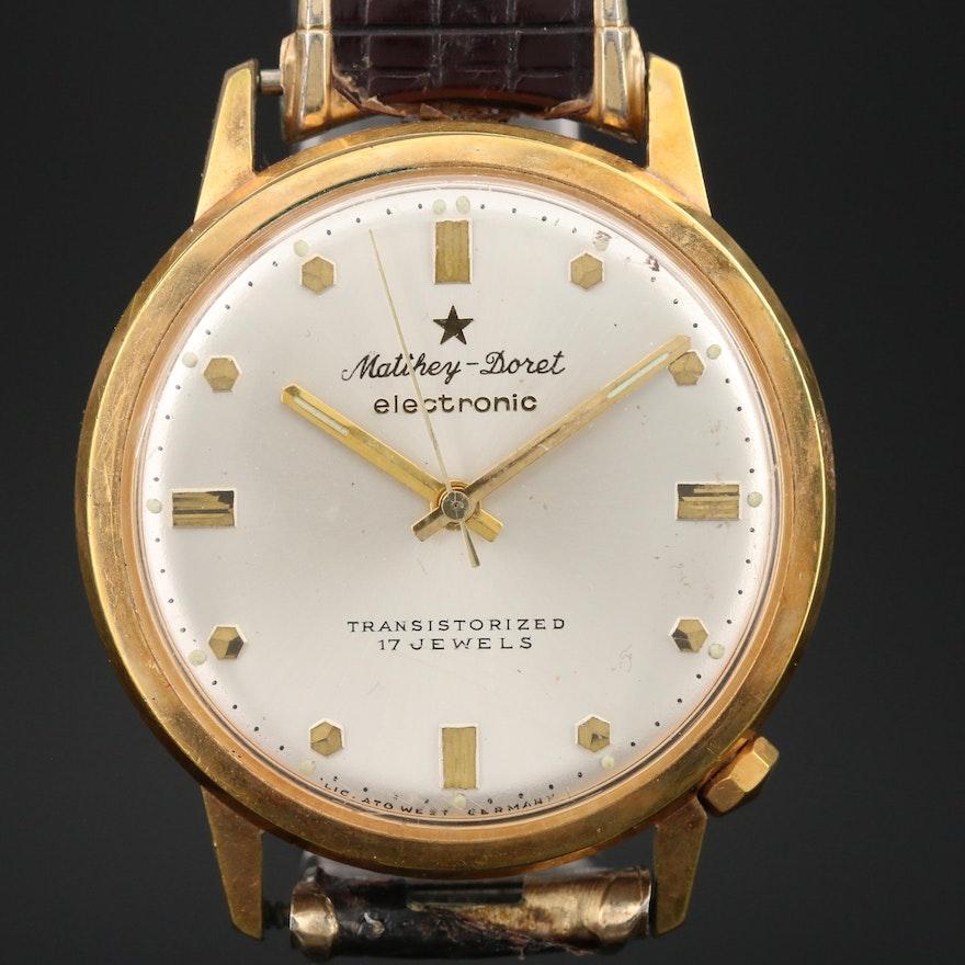 Vintage Mathey-Doret Electronic Wristwatch