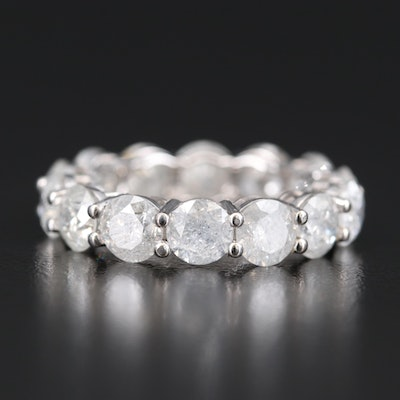 14K 7.56 CTW Diamond Eternity Band