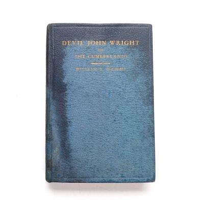 """""""Devil John Wright of the Cumberlands"""" by William T. Wright, 1932"""