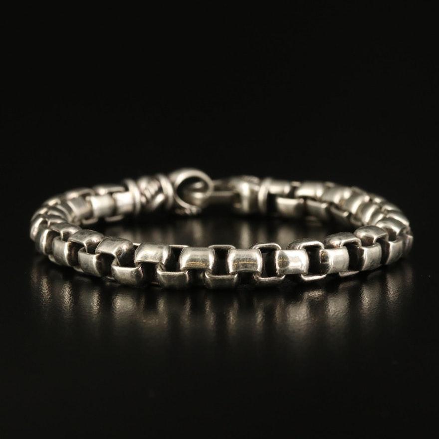 Jai by John Hardy Sterling Box Chain Bracelet