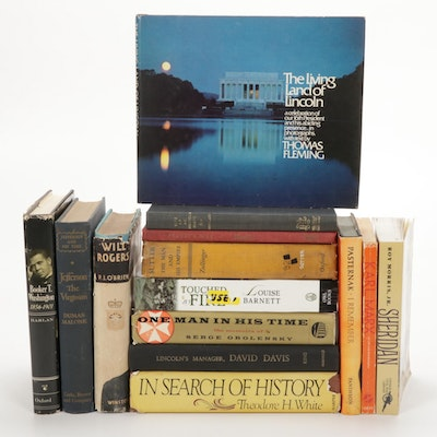 """In Search of History"" by Theodore H. White and More Nonfiction Books"