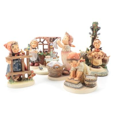 """Goebel Hummel Porcelain Hummelscapes """"Oktoberfest"""" and """"Strudel Haus"""" and More"""