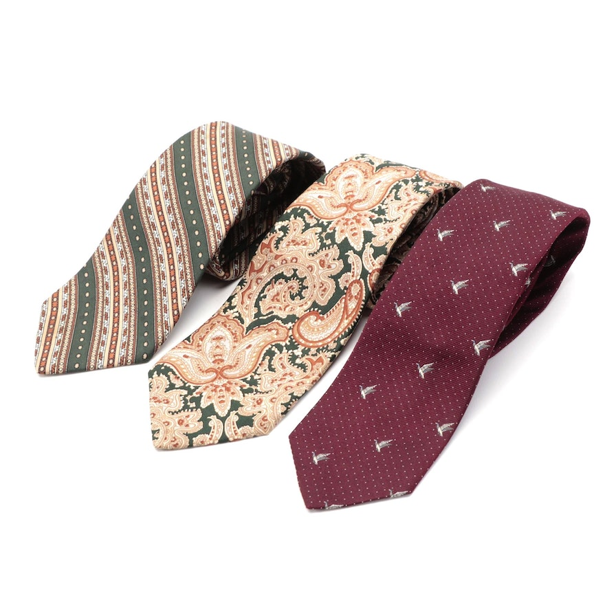 Neiman-Marcus and Saks Fifth Avenue Silk Neckties