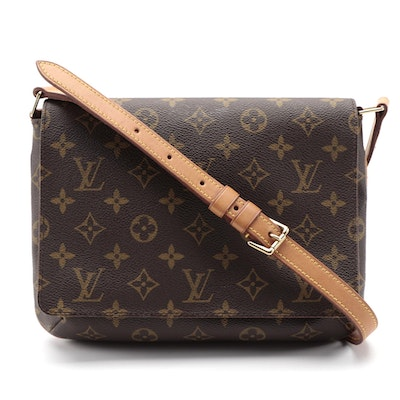 Louis Vuitton Musette Tango Shoulder Bag in Monogram Canvas