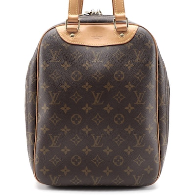 Louis Vuitton Excursion Travel Bag in Monogram Canvas