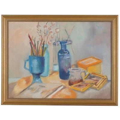 Still Life Oil Painting, 21st Century