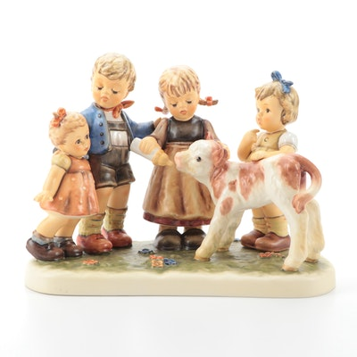 "Goebel Hummel ""Farm Days"" Porcelain Figurine"