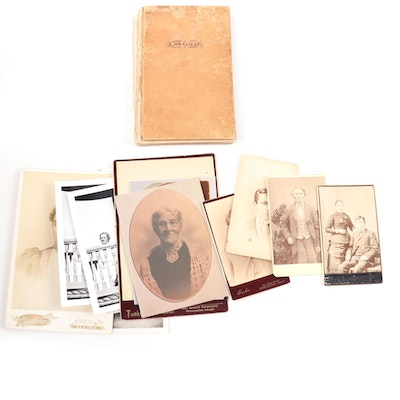 """""""Thomas Monahan's Diary and Historical Notes"""" with Photograph Collection"""