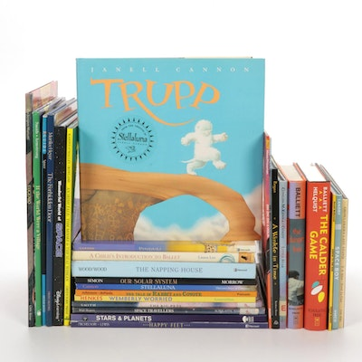 "Children's Fiction and Nonfiction Including ""Stellaluna"" and ""Space Travellers"""