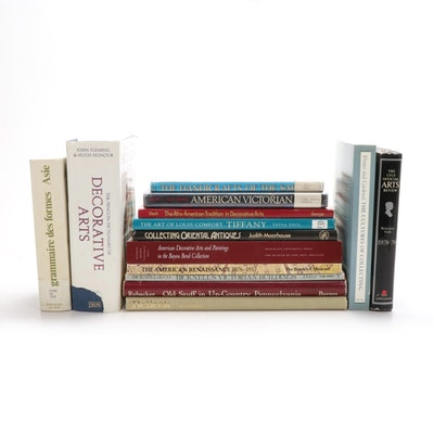 Antiques, Art, and Architectural Styles Book Collection