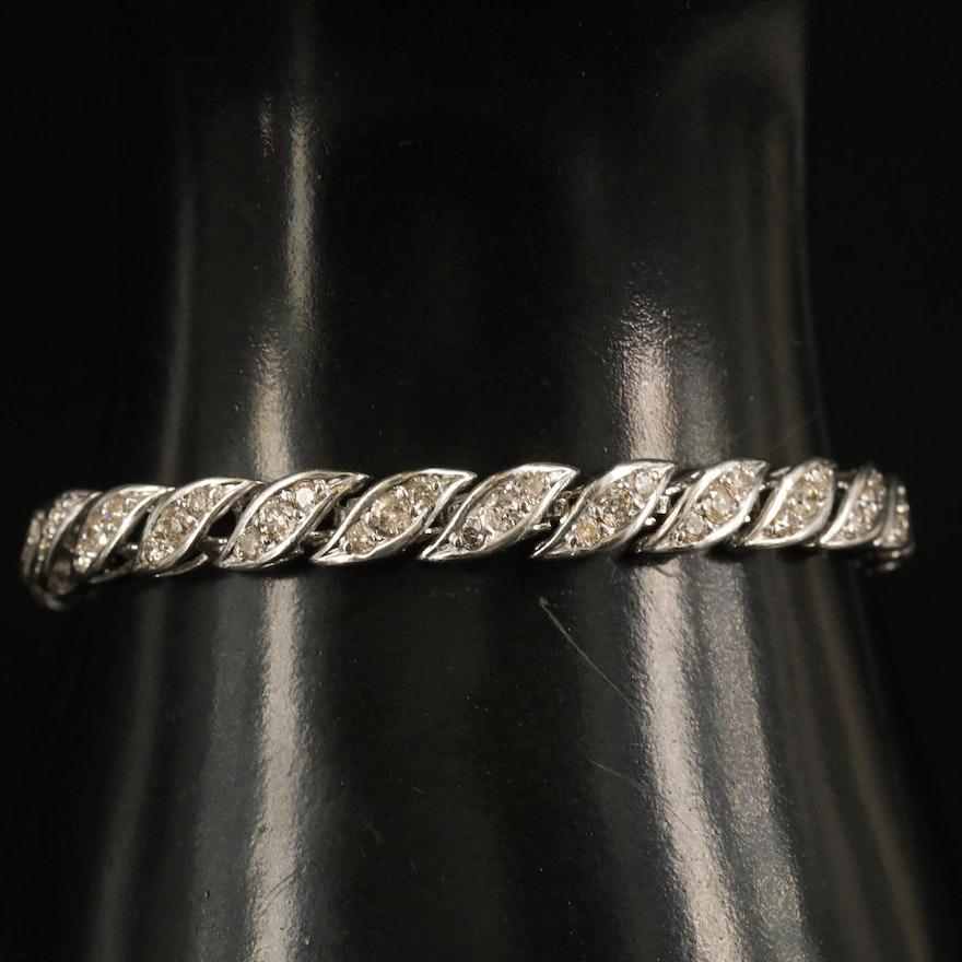 14K 3.12 CTW Diamond Bracelet