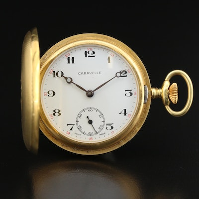 Caravelle Swiss Made Pocket Watch