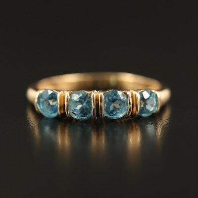 Topaz Four Stone Ring