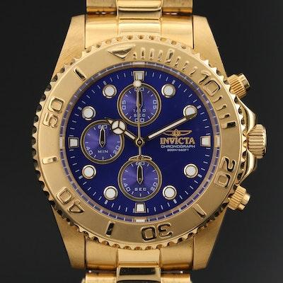 Invicta Pro Diver Chronograph Wristwatch