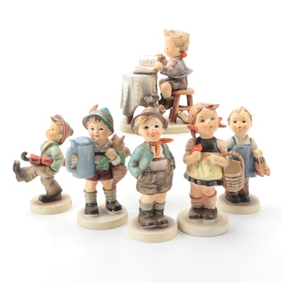 """Goebel Hummel """"Little Bookkeeper,"""" """"Sister,"""" and Other Porcelain Figurines"""