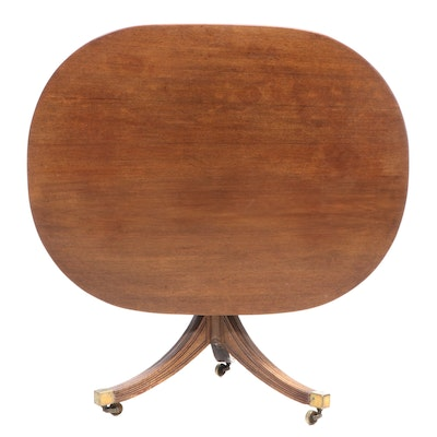 George III Mahogany Tilt-Top Breakfast Table, Early 19th Century
