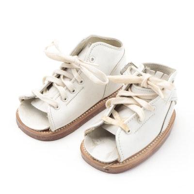 Children's Pre-Walker Corrective Lace-Up Shoes by Sabel's Basic Shoes