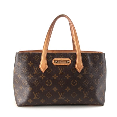 Louis Vuitton Wilshire PM in Monogram Canvas