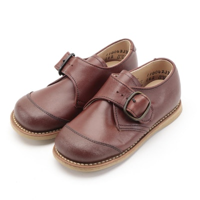 Children's Ruggies by Foot Traits Leather Dress Shoes with Box
