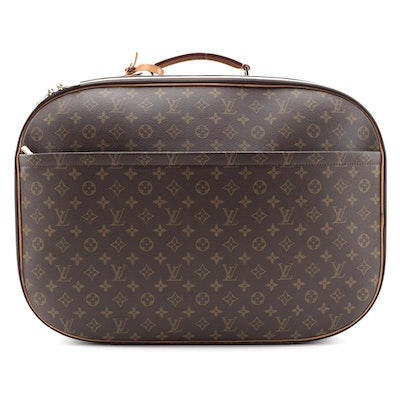 Louis Vuitton Packall GM Travel Case in Monogram Canvas and Natural Leather Trim