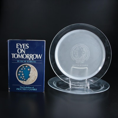 """Eyes on Tomorrow: The Evolution of Procter & Gamble"" with Etched Crystal Plates"