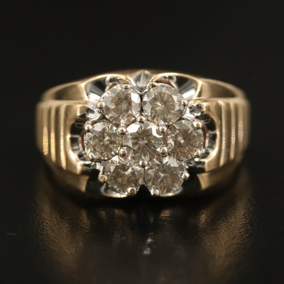 10K 1.98 CTW Diamond Ring