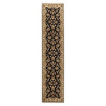 2'8 x 12' Hand-Knotted Indo-Persian Tabriz Carpet Runner, 2000s