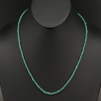 Graduated Emerald Necklace