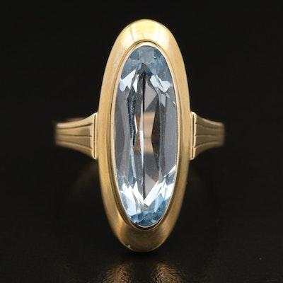 Vintage 8K Spinel Ring