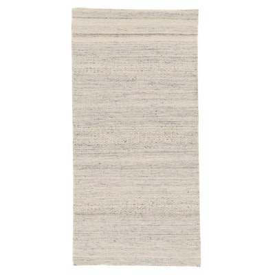2'4  x 4' 7 Hand-Knotted Wool Accent Rug