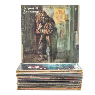 Jethro Tull, Led Zeppelin, Black Sabbath and Other Vinyl Rock Records