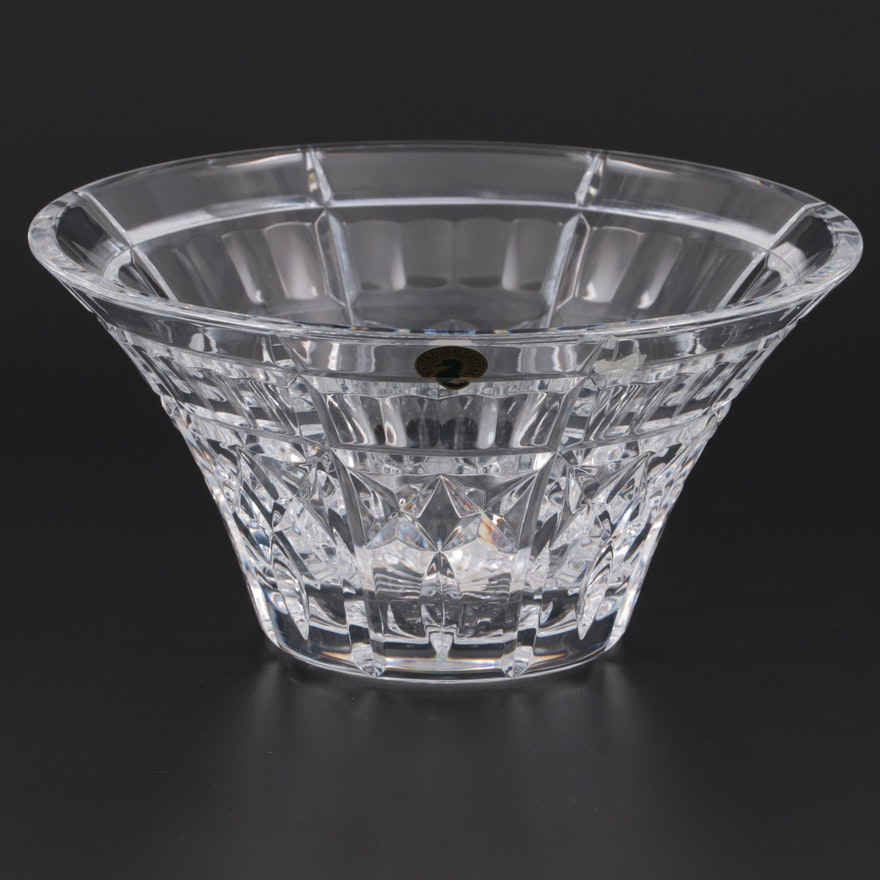 """Waterford Crystal """"Welcome"""" Bowl"""