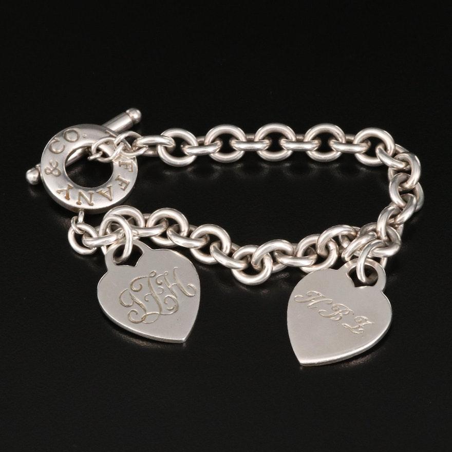 Tiffany & Co. Sterling Silver Charm Bracelet