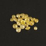 Loose 1.19 CTW Round Brilliant Cut Diamonds