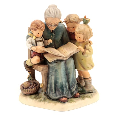 "Goebel Hummel Club Limited Edition ""A Story from Grandma"" Porcelain Figurine"