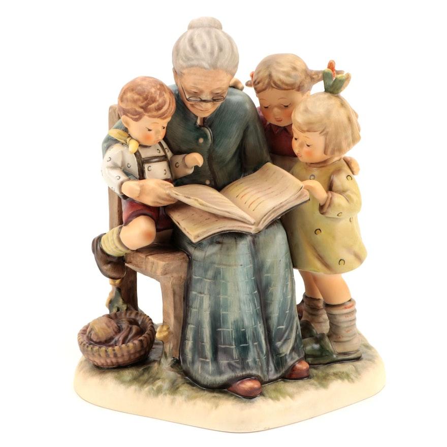 "Goebel Hummel Club Limited Edition ""A Story from Grandma"" Porcelain Figurine"