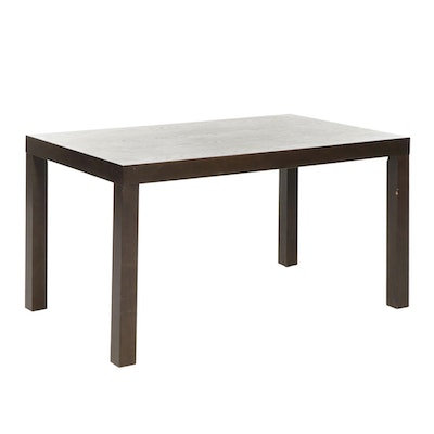 West Elm Parsons Style Dining Table