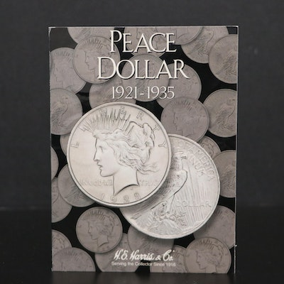 Twenty Coin Peace Silver Dollar Collection