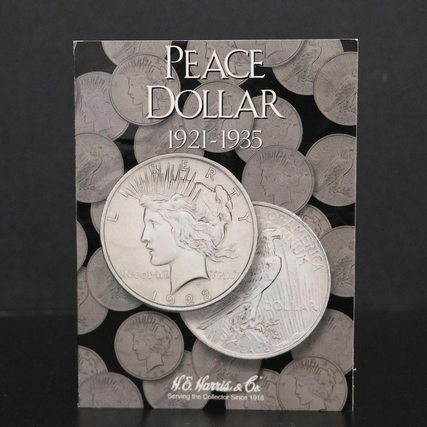 Twenty Coin Peace Silver Dollar Collection