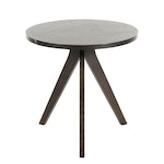 West Elm Black Tripod Side Table