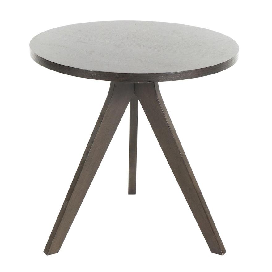 West Elm Black Tripod Side Table