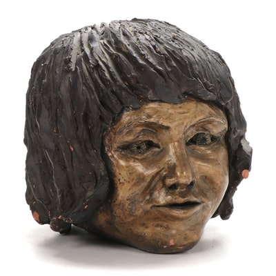 Barbara Sweney Ceramic Portrait Sculpture