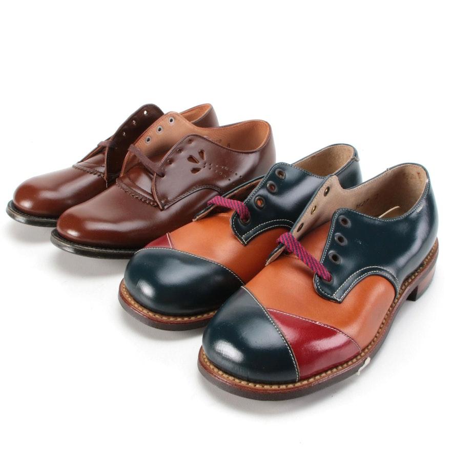Children's Julius Altschul and Edwards Saddle Shoes
