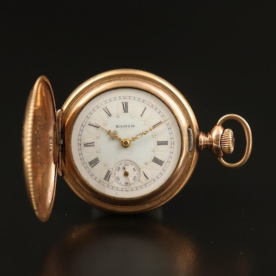 1900 Elgin Gold Filled Pocket Watch