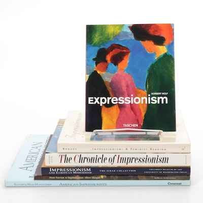 "Impressionism Art Books Including ""The Chronicle of Impressionism"""